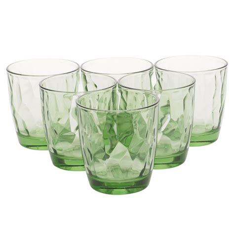 bormioli rocco diamond style green bormioli rocco glasses