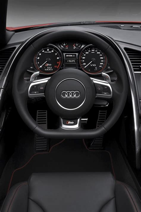 cars audi  gt spyder interior ipad iphone hd