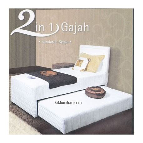 Sofa Gajah springbed 2 in 1 gajah sandaran regza sale 51