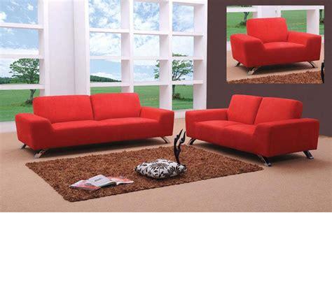 modern red sofa dreamfurniture com sunset modern red sofa set