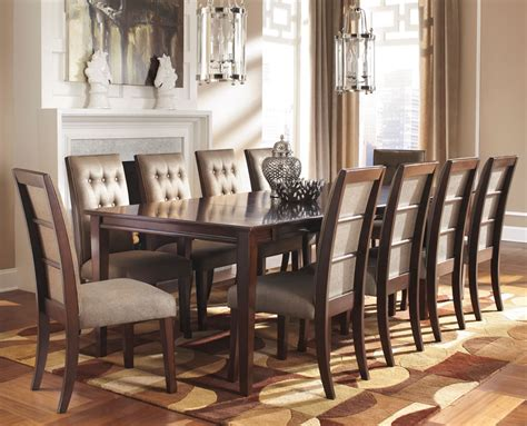 9 dining room set formal dining room sets for 8 homesfeed