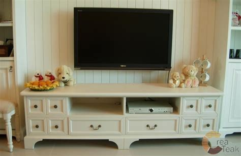 Nakas Cat Duco Putih Model Modern buffet tv modern duco putih createak furniture