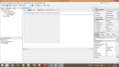 membuat form login pada java netbeans dasar java netbeans cara membuat form di java netbeans