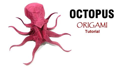 Origami Octopus - origami origami octopus diagram crafts origami crafty