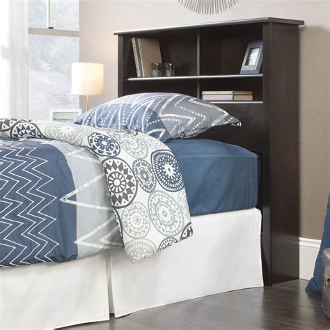 sauder bookcase headboard sauder county line twin bookcase headboard beds home