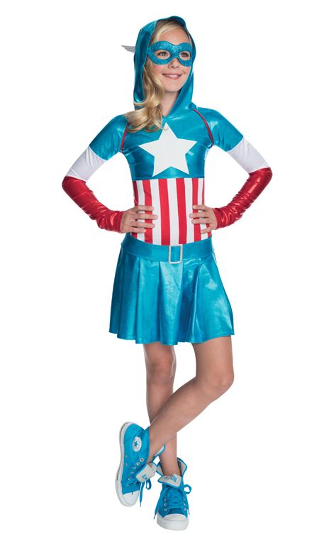 Bba3008 Dress Kostum Hoodie captain america hoodie dress costume tv book and costumes mega fancy dress