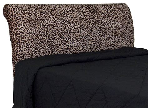 zebra headboard upholstered headboard full queen leopard zebra black