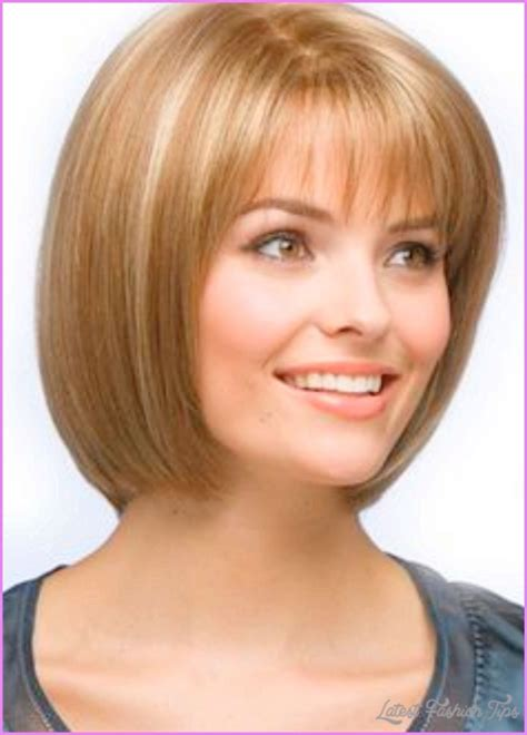 latest photographs of bobs for women over 50 with fine hair and a wide jaw bob hairstyles for women over 50 latestfashiontips com