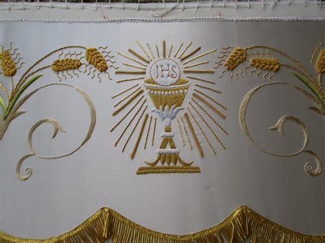 bordados eclesisticos seconda tovaglia particolare miei lavori di ricamo