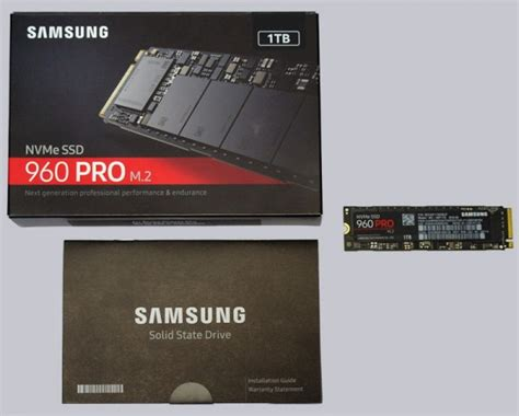 Samsung Ssd M 2 960 Pro 1tb Nvme Pci Express 3 0 X4 Murah samsung ssd 960 pro 1tb m 2 nvme test
