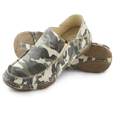 camo shoes tony lama s 3r camo canvas shoes 640741 casual