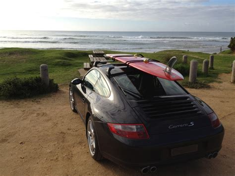 Porsche Roof Rack by Surfs Up With Some Porsche 997 Roof Racks Roof Carrier