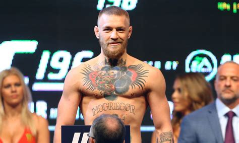 conor mcgregor advocate for a clean ufc posts revealing