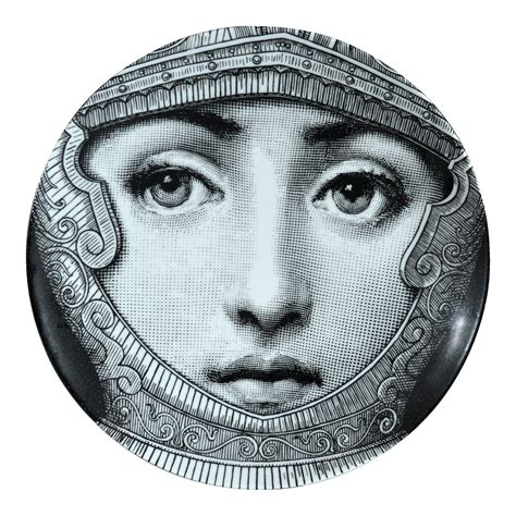 Fornasetti Teller by Fornasetti Tema E Variazioni Plate Number 95 Chairish