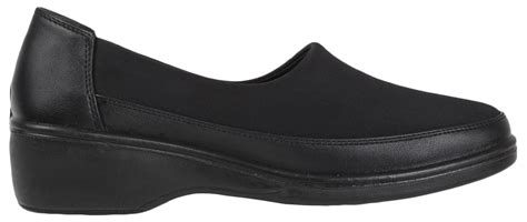 memory foam comfort shoes womens stretch elastic work shoes flat memory foam comfort