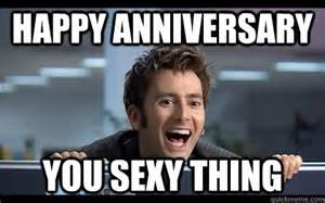 Funny Anniversary Memes - happy anniversary to us