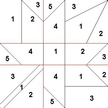 Maple Leaf Quilt Block Pattern by Maple Leaf Quilt Block Pesquisa Paper