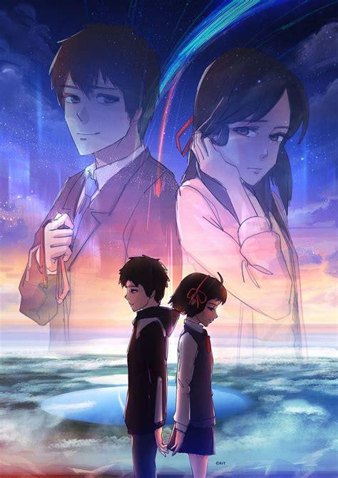 film anime kimi no na wa kimi no na wa by kit ho deviantart com on deviantart