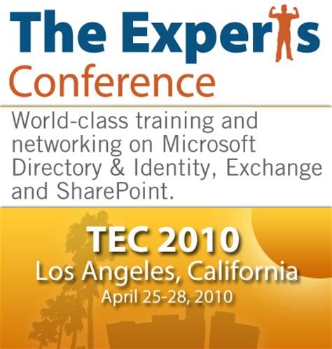 Exchange La Calendar Tec 2010 Exchange Schedule Calendar The Expta