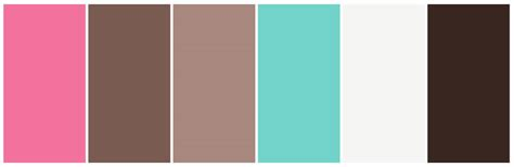 pink and brown color scheme some of our favourite colour palettes 416 studios