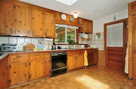 knotty pine kitchen cabinets for sale 45 best knotty pine retro images on pinterest kitchens
