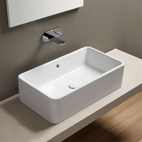 lavabo bagno sanitari e lavabi sinergy zero9