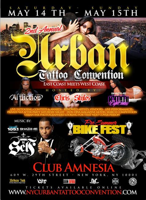 tattoo convention tickets tickets for 2nd annual nyc urban tattoo convention in new