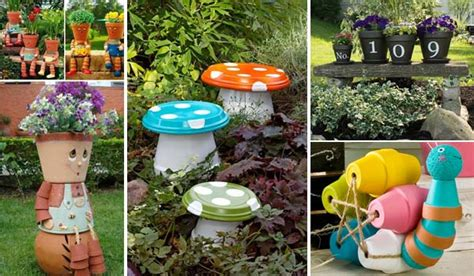 garden pot ideas 26 budget friendly and garden projects made with clay