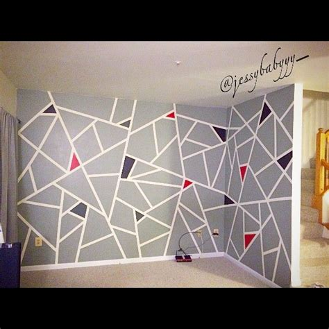 wall pattern ideas with tape the 25 best frog tape wall ideas on pinterest geometric