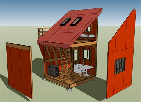 Tiny Home Designs by Sketchup Archives Tiny House Design