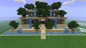 minecraft jardin de luxe