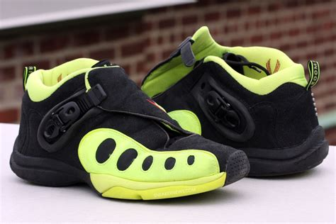 classics revisited nike air zoom gp black neon yellow