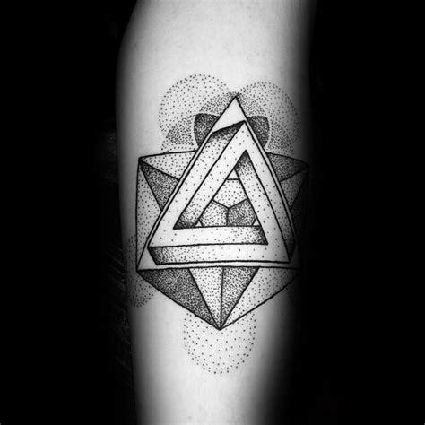 60 penrose triangle tattoo designs for men impossible tribar ideas 60 penrose triangle tattoo designs for men impossible