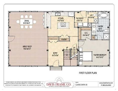 residential pole barn floor plans barndominium house plans barndominium floor plans