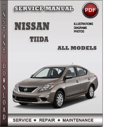 nissan latio 2007 2012 service repair manual pdf download nissan tiida service repair manual download info service manuals