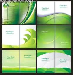 6 green album cover background design template coreldraw