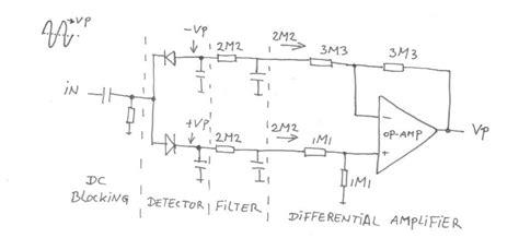 diode detector circuit diode detector circuit for am 28 images litude modulation diode detector intgckts am diode