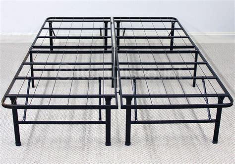 metal platform bed frame mattress foundation base folding
