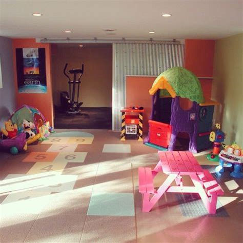 Garage Playroom by Garage Playroom Ideas For The Home