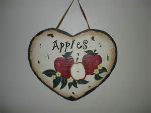 apple wall decor kitchen decor apple wall hanging plaque sign ceramic