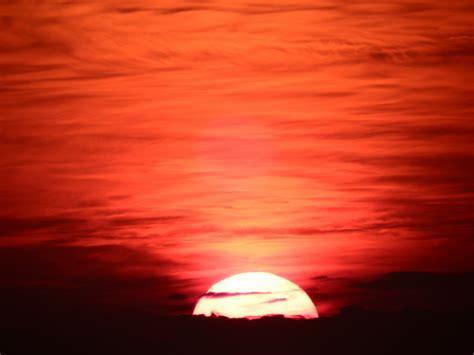 sunset orange bright orange sunset sky free stock photo public domain
