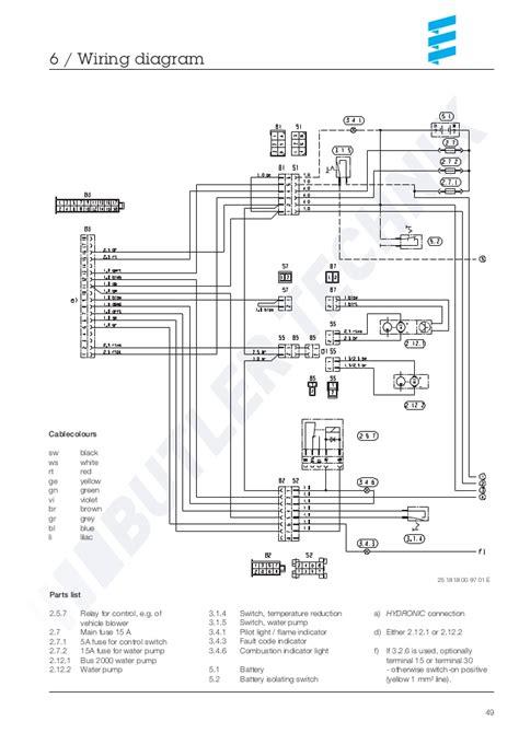 eberspacher bn4 heater wiring diagram reddy heater parts