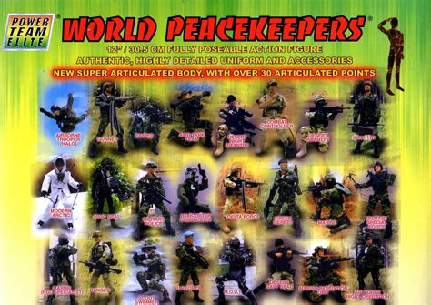 Power Team World Peacekeeper Odium power team elite world peacekeepers airborne and 12