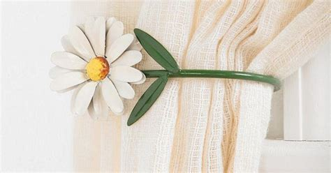 curtain tie backs urban outfitters urban outfitters daisy curtain tie back decorating