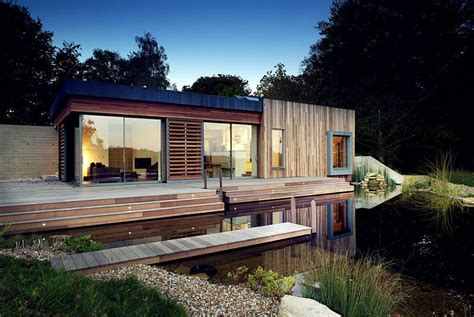 green home design uk tranquil forest house with a sustainable modern design in