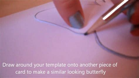 diy butterfly wall decor youtube