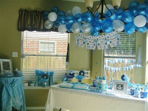 baby boy shower decoration ideas