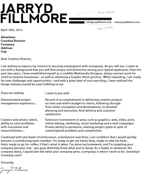 application letter for designer sle application for graphic designer employment