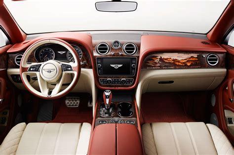 bentley interior bentley bentayga by mulliner interior motor trend
