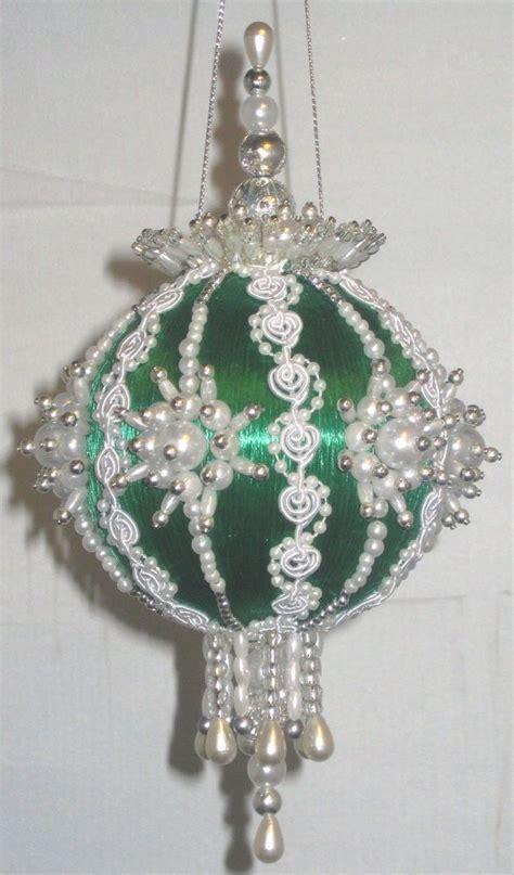 bead sequin ornaments images  pinterest